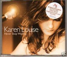 (H914) Karen Louise, Never Stop Waiting - DJ CD
