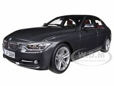 BMW F30 3 SERIES MINERAL GREY 1/18 DIECAST MODEL CAR BY PARAGON 97025