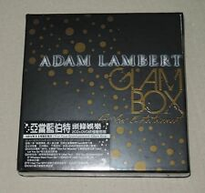 Adam Lambert For Your Entertainment Taiwan Ltd Glam Box CD RARE New Sealed
