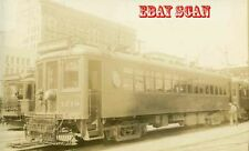 6H999G RP 1930/40s PACIFIC ELECTRIC RAILROAD CAR #1219 LOS ANGELES SIGN