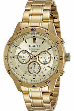 NEW SEIKO SKS526P1,Men's CHRONOGRAPH,STAINLESS STEEL,100m WR,SKS526