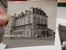 FALMOUTH HOTEL  P OLD PHOTOGRAPH ORIGINAL VINTAGE ITEM B/W 9X8 cm approx