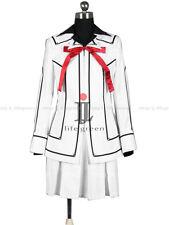 VAMPIRE KNIGHT Yuki Night Class White Uniform Cos Clothing Cosplay Costume