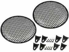 12 inch Speaker Grill. Round holes pair   ( UK MADE )