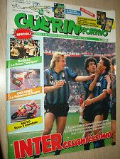 GUERIN SPORTIVO 1990 ANNO LXXVIII N°12 (787) LA SANREMO DI BUGNO INTER KNORR
