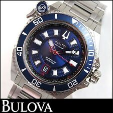 Bulova 98B168 Men's Precisionist Catamount Stainless Steel Blue Dial Dive Watch