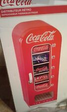 COCA COLA RETRO VENDING MACHINE - BRAND NEW - MINI FRIDGE FOR SODA OR BEER