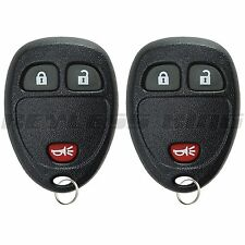 2 New Replacement Keyless Entry Remote Car Key Fob Clicker Control for 15913420