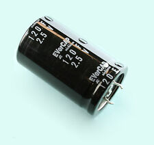 Nichicon JC Evercap Supercapacitor Ultracapacitor 2.5 Volts 120 Farads Snap-In
