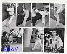 Sam Jones does Kung Fu VINTAGE Photo Code Red promo 7 images in 8 X 10 photo