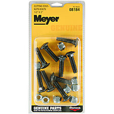 "NEW GENUINE MEYER SNOW PLOW (9) 1/2"" CARRIAGE BOLTS FOR CUTTING EDGE 08184"