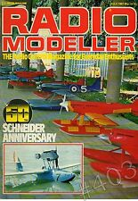 Radio Modeller Magazine July 1981 Engine Bench Test OS Max 90FSR - CHILTON D.W.1