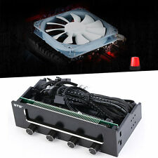 5.25 LCD Panel Fan Speed Temperature Controller Governor PC Hardware O8