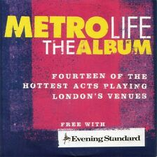 Various Artists ‎–  Metro Life The Album, Evening Standard CD