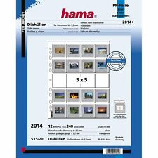 "Hama 35MM Slide storage pages ""20 slides per page in 5 rows of 4"