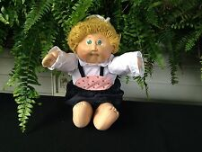 VINTAGE 1982 BLONDE HAIR GREEN EYES CABBAGE PATCH DOLL