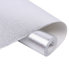Textured Sparkle Wallpaper - Glitter Effect Modern Feature - Silver | Gold Rolls