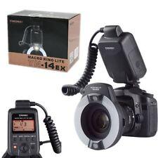 YONGNUO YN-14EX LITE E-TTL LED Flash Light w/ Macro Rings Adater for Canon UK