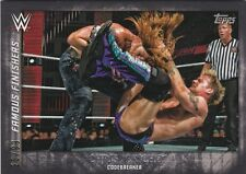 2015 TOPPS WWE UNDISPUTED FAMOUS FINISHERS CHRIS JERICHO CODE BREAKER #28/99