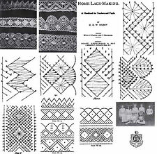 Pillow Lace Book Patterns Bobbin Laces Pattern 1906
