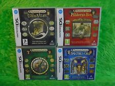 ds PROFESSOR LAYTON X4 Curious Village Pandora Box Lost Future Spectres Call PAL