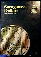 Whitman Sacagawea Dollar Starting 2000 Coin Folder, Album Book # 8060