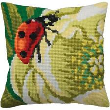 Needlepoint Kit  COCCINELLE PILLOW Ladybug  Seat Cover