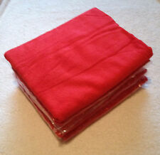 5x RED Large 60cm x 120cm Microfibre Cleaning Cloth Towel Car Waxing Polishing