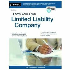 Form Your Own Limited Liability Company: Create An LLC in Any State-ExLibrary