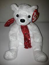 TY 2000 HOLIDAY TEDDY BEAR BEANIE BABY 2000 RETIRED NEW STUFFED TOY!