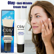 Olay Anti-Wrinkle Hydration Eye Cream 15ml Age 30+ Ageing Day & Night for Women