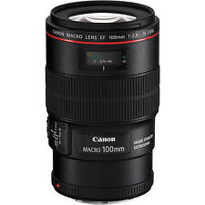 Brand New Canon EF 100mm f/2.8L Macro IS USM Lens - Winter Sale