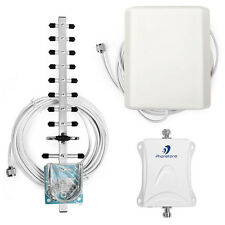 70dB 3G LTE 2100MHz Cell phone Signal Booster Mobile Repeater Amplifier Full Kit