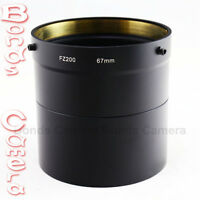 67mm 67 mm Camera Lens Filter Adapter Tube for Panasonic Lumix DMC-FZ200 DMW-LA7