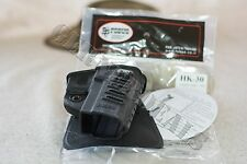 New HK P-30 Fobus Black Paddle Holster for Heckler & Koch H&K P30 SK Sub-Compact