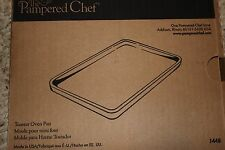 Pampered Chef Stoneware Toaster Oven Pan Item #1448 FREE SHIPPING  Small bar pan