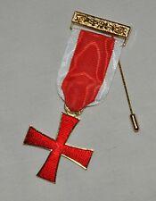Masonic Knights Templar Breast Jewel (KT004)