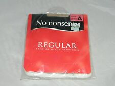 NO NONSENSE Regular Pantyhose Nude Reinforced Toe Size A