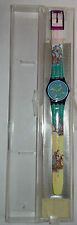 OROLOGIO - WATCH - RELOJ/ ORIGINAL SWATCH QUARTZ/ LV100 - COMPASS - 1991