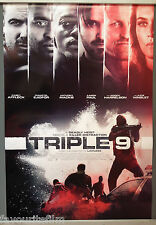 Cinema Poster: TRIPLE 9 2016 (Main One Sheet) Norman Reedus Woody Harrelson