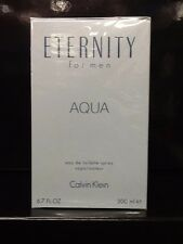 ETERNITY AQUA BY CALVIN KLEIN *MEN'S COLOGNE* 6.7 OZ EDT SPRAY *NEW PERFUME BOX