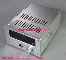 High quality Silve color Aluminium case chassis for Tube amplifier 168Wx100Hx229