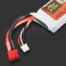 ZOP Power 7.4V 2200mAh 35C Lipo Battery T Plug