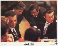 ROBERT DE NIRO MARTIN SCORCESE GOODFELLAS 1990 LOBBY CARD ORIGINAL #4