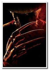 "20""x30"" Fiber Silk Poster A Nightmare on Elm Street Horror Freddy Krueger"