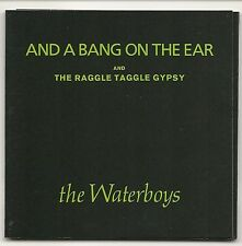 """THE WATERBOYS AND A BANG ON THE EAR + THE RAGGLE TAGGLE GYPSY 3"""" CD SINGLE 1989"""
