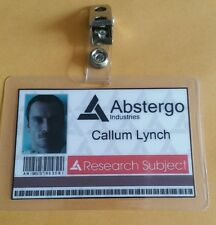 Assassin's Creed ID Badge- Abstergo Industries Callum Lynch cosplay