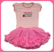 Gardening Bear Ruffled Tutu Skirt Set, GBRS-19 Size Medium  (4-5 years old)