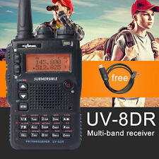UV-8DR Amateur 2 Way Radio Dual-Band VHF/UHF Transceiver + One Programming Cable