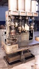 Buffalo 4 spindle gang drill press